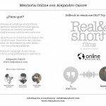 World Known Filmmaker-Alejandro Calore, Offering Online Mentoring Classes.
