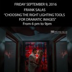"""CHOOSING THE RIGHT LIGHTING TOOLS FOR DRAMATIC IMAGES"""