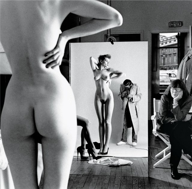 Helmut Newton-by June 1981