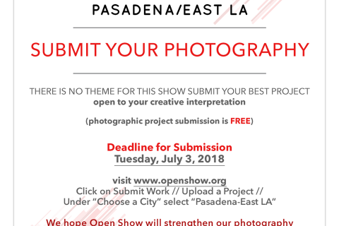 Calling all photographers! Submit your work