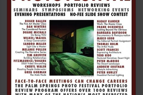 PALM SPRINGS PHOTO FESTIVAL 2019 MAY 5-10