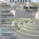Tim Meyer – Art History at the Getty September 10, 2019