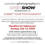Pasadena Photography Arts- Submit your Photographs! Deadline July 12