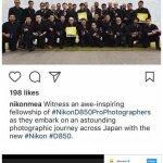 Nikon escogió 32 fotógrafos para promover una cámara. Los 32 eran hombres.